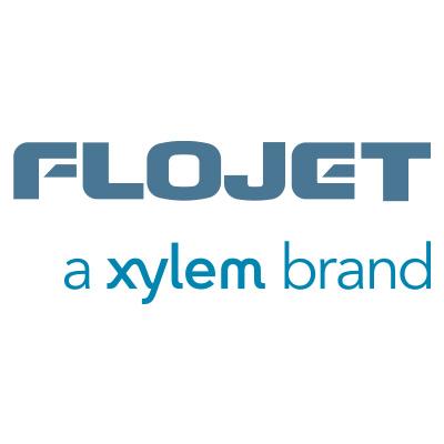 Flojet Xylem Brand Logo on white background