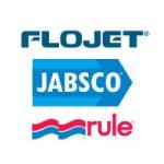 Flojet Jabsco Rule Logo on white background
