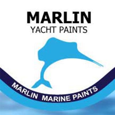 Marlin Logo Square Large on white background