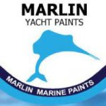 Marlin logo square small on white background