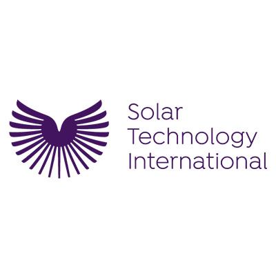 Solar Technology International Logo on white background
