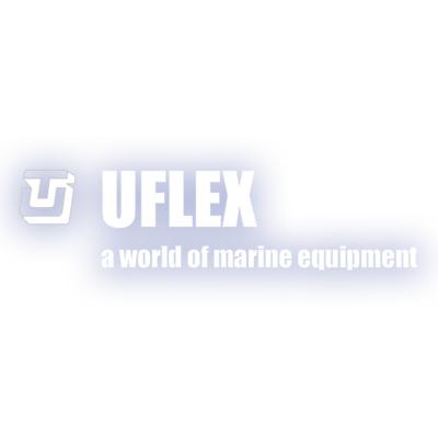 Uflex Logo 400 on white background