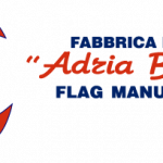 adria bandiere fabbrica bandiere logo rectangular on transparent background