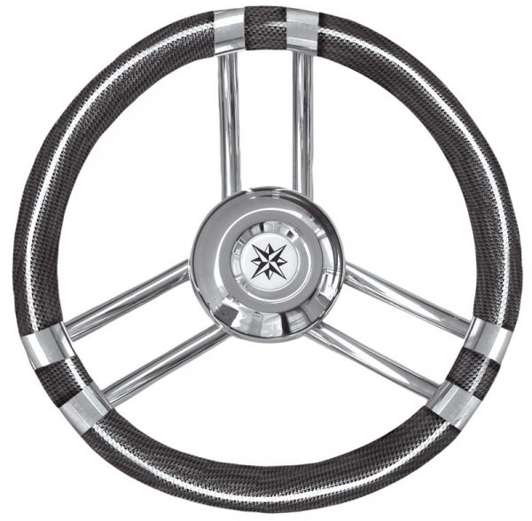 Boat Steering Wheel on a white background
